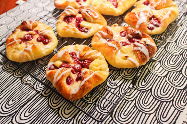 Sour Cherry Danish Pastry :: The Scandinavian Baker