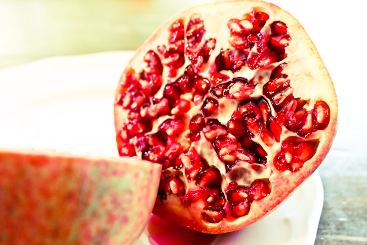 Home Grown Pomegranate :: The Scandinavian Baker