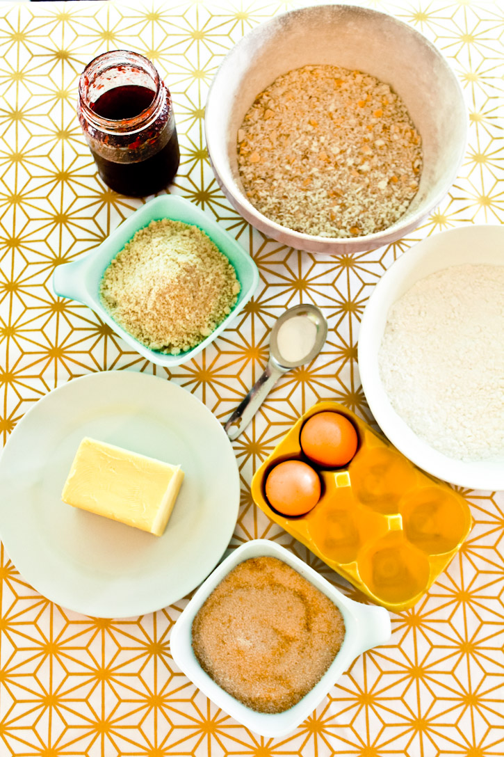 Ingredients for Runeberg Torte :: The Scandinavian Baker