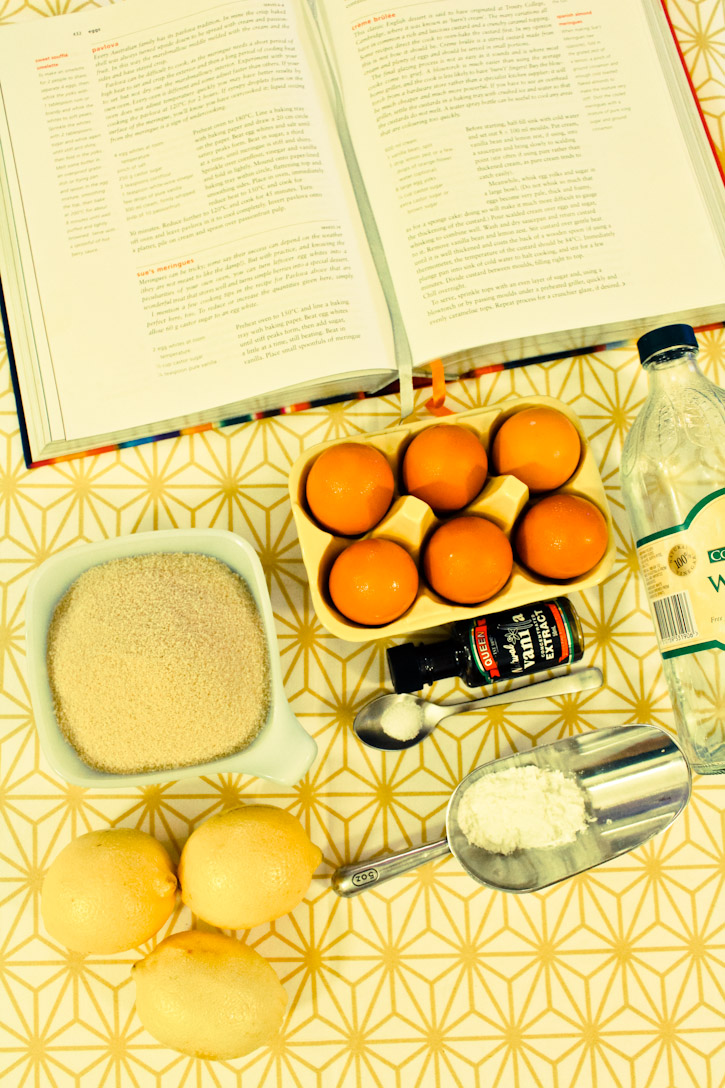 Ingredients for Pavlova :: The Scandinavian Baker