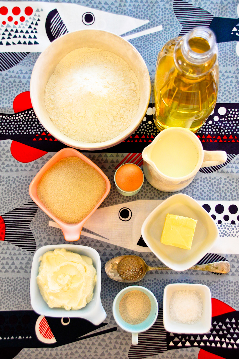 Ingredients for Munkki :: The Scandinavian Baker