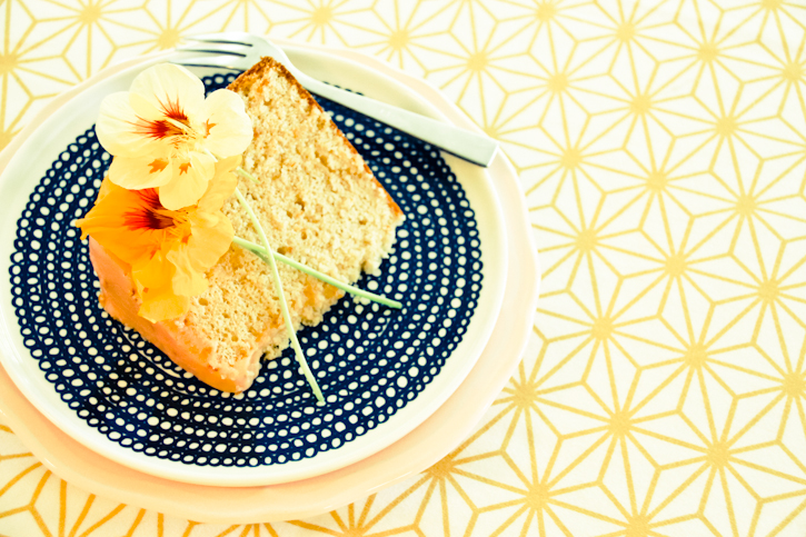Blood Orange Chiffon Cake :: The Scandinavian Baker